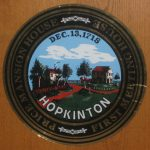 Seal of the Town of Hopkinton 1715