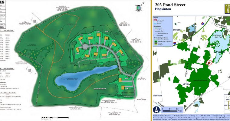 Special Town Meeting Tomorrow 7pm – Pond Street Land Purchase
