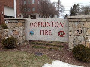 Hopkinton Fire Department Winter