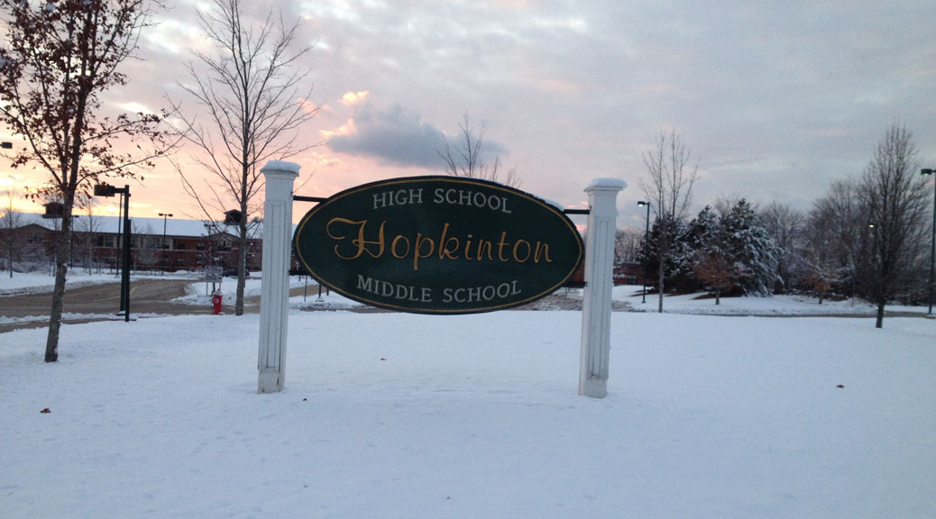 Hopkinton School Enrollment Surpasses Peak