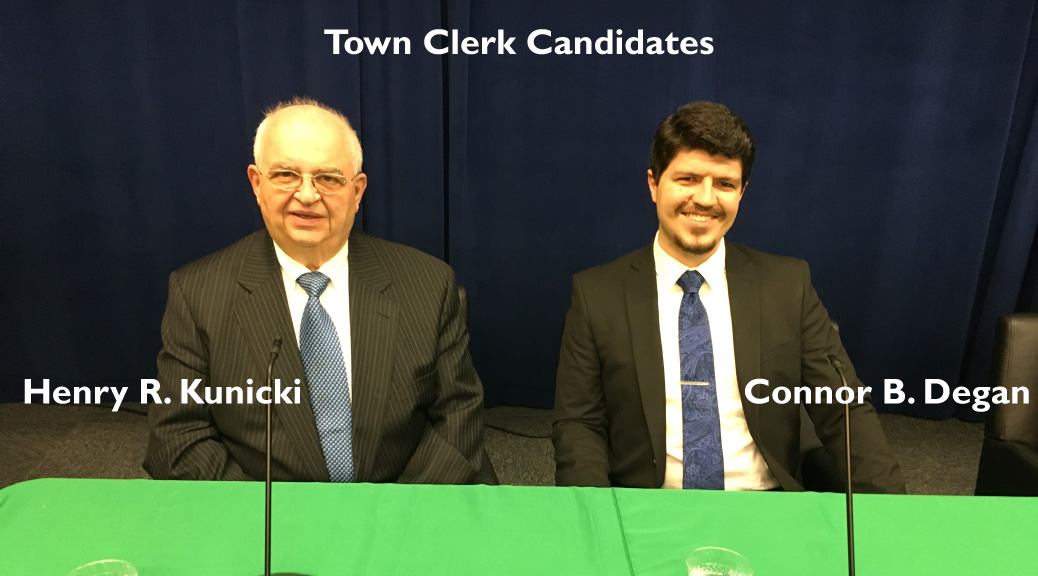Town Clerk Candidate Q & A