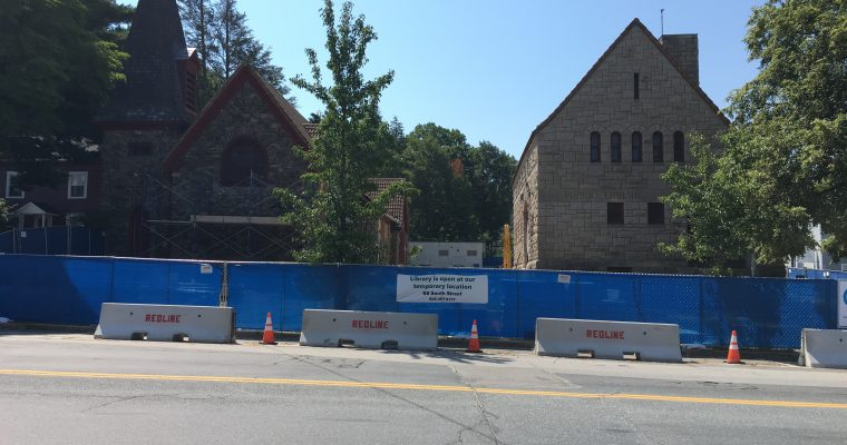 Library Moving to South Street During Renovation