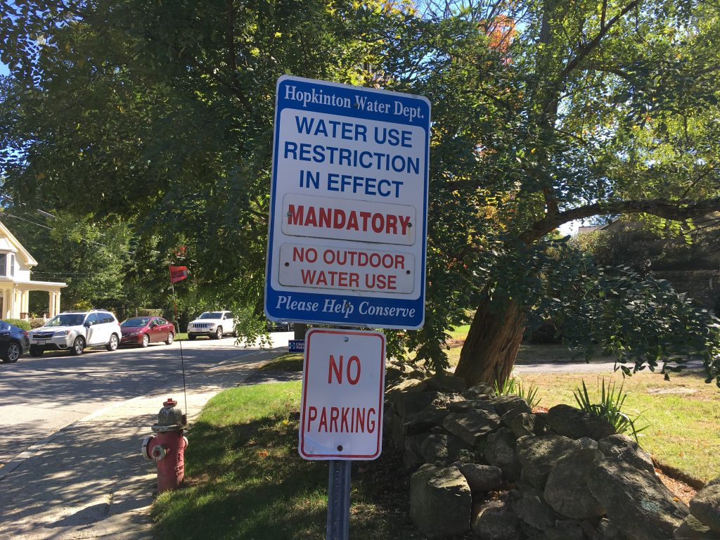 Mandatory Water Ban - No Outdoor Use