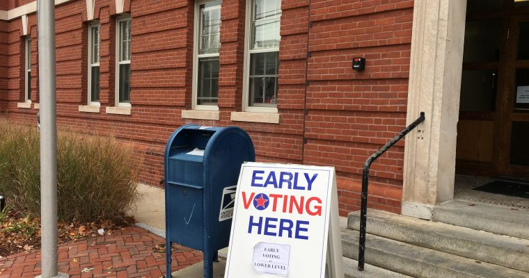 Early Voting Continues Until Nov. 4 or Vote at the Polls on Nov. 8