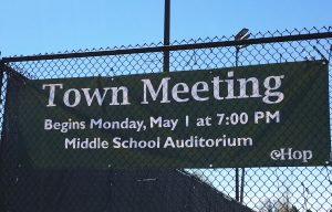 Town Meeting 2017 Banner