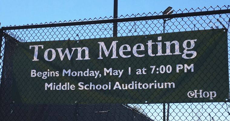 Town Meeting Results Day 2 (unofficial)