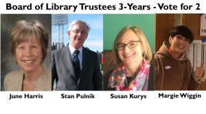 Library Trustees Race 2017