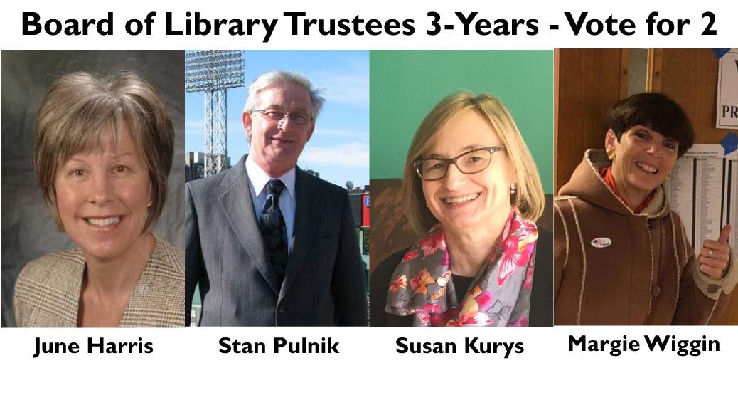 Learn More About the Board of Library Trustees 3-Year Candidates