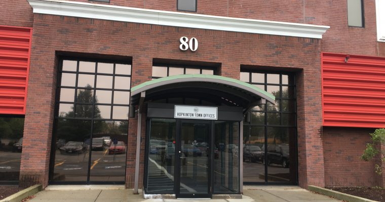 Town Hall Relocated to 80 South St