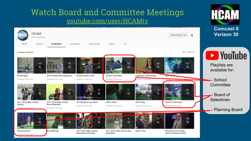 Watch Board and Committee Meetings