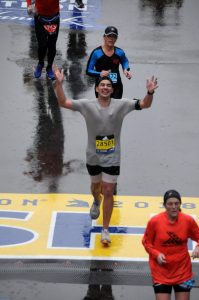 Jose Moros Obregon Boston Marathon 2018