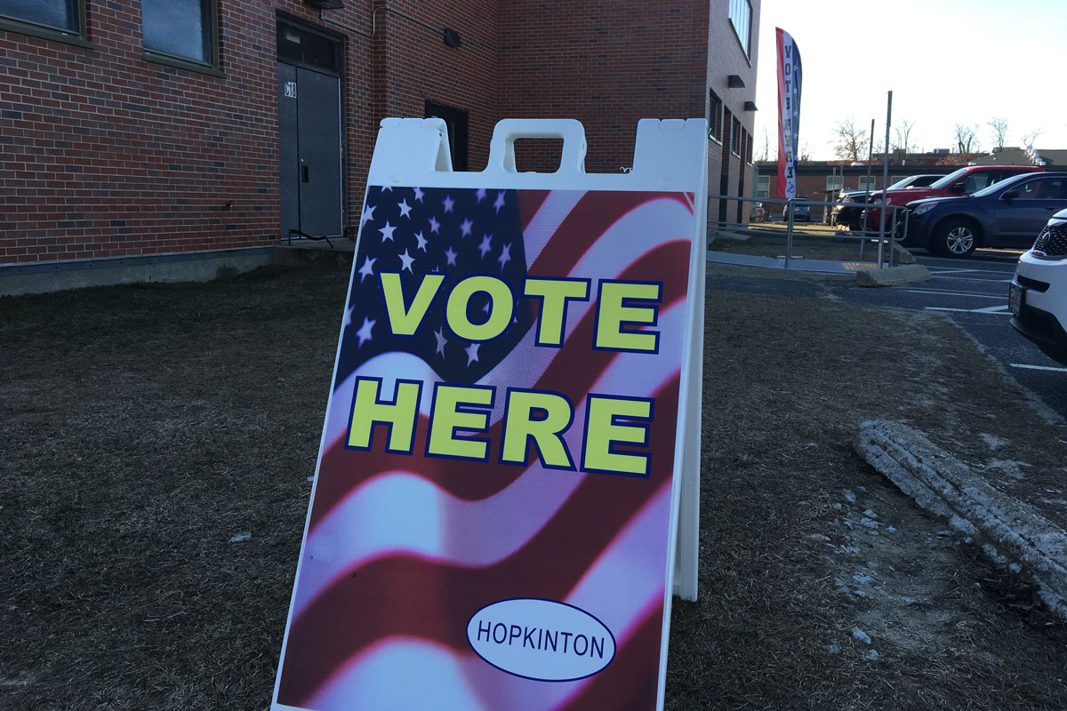 Vote Monday 5/21 for Selectmen, Planning Board, School Committee, Board of Health and Library Trustees