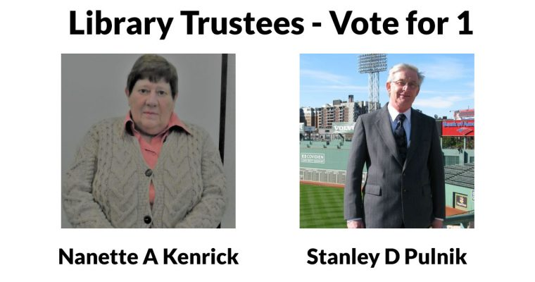 Learn More About the Library Trustee Candidates