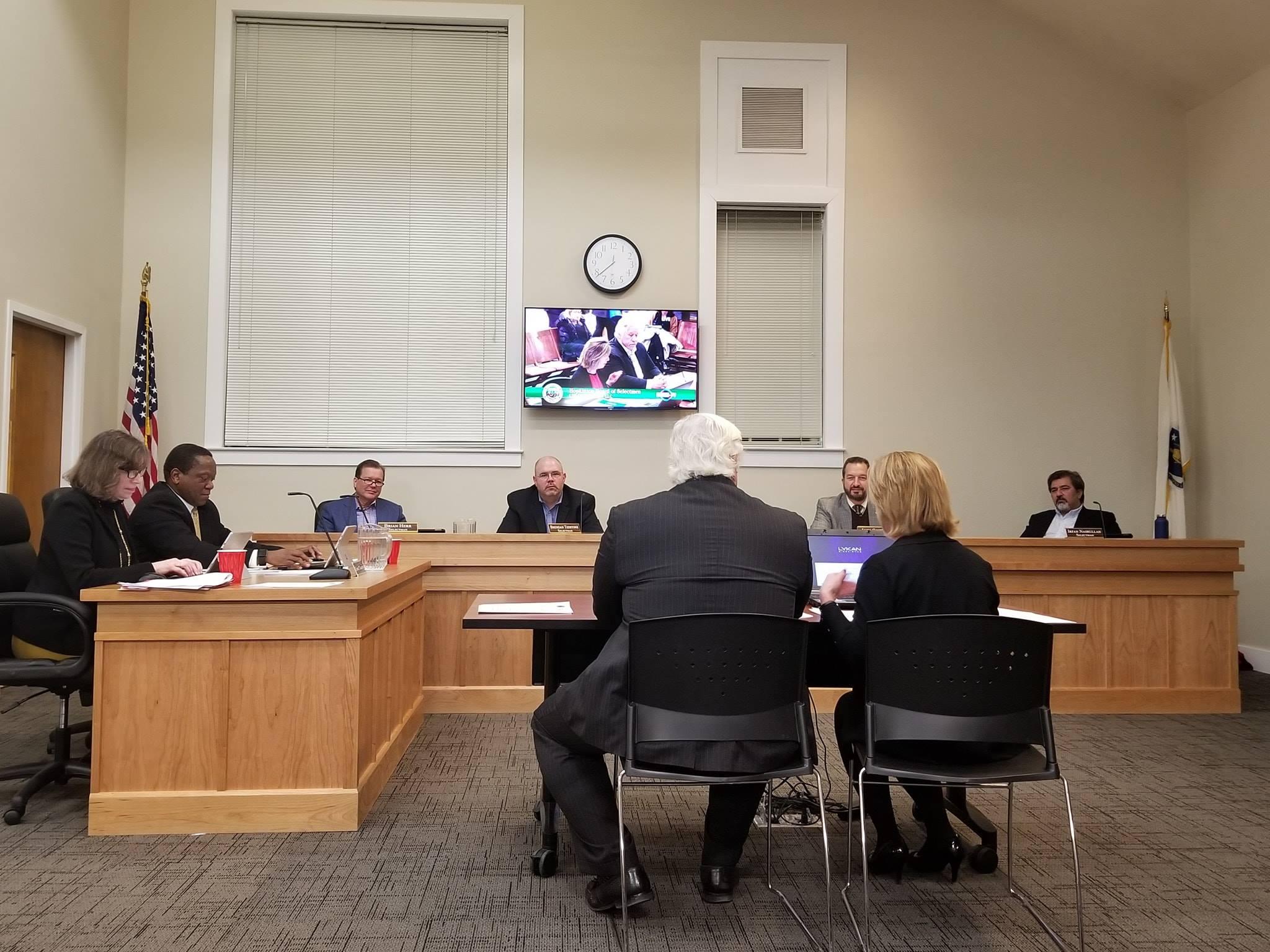 Lykan Bioscience presents to the Board of Selectmen