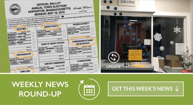 Weekly Roundup 04/21/2019