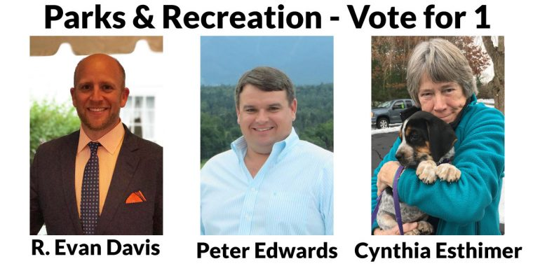 Learn More About the Parks & Recreation Candidates