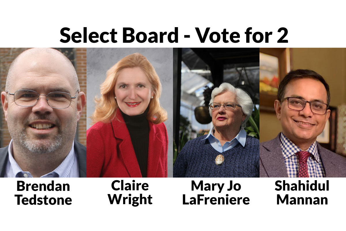 Learn More about the Select Board Candidates