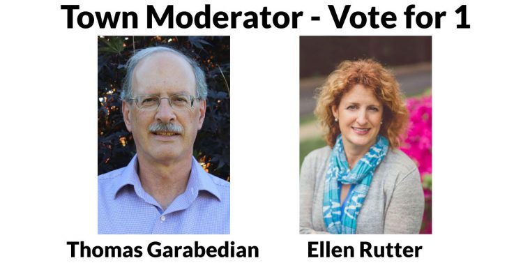 Learn More about the Town Moderator Candidates
