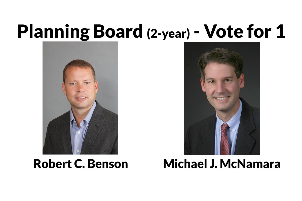 Learn More About the Planning Board Candidates