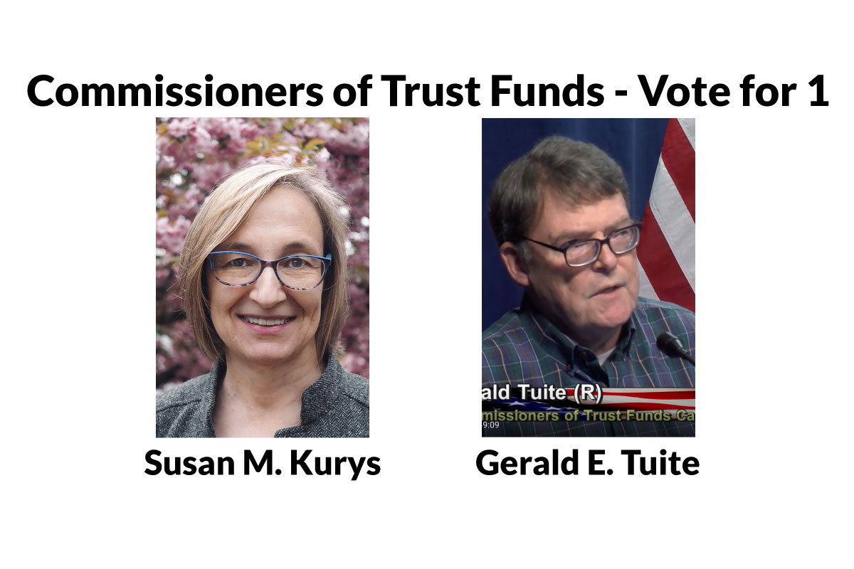 Learn More about the Commissioner of Trust Funds Candidates