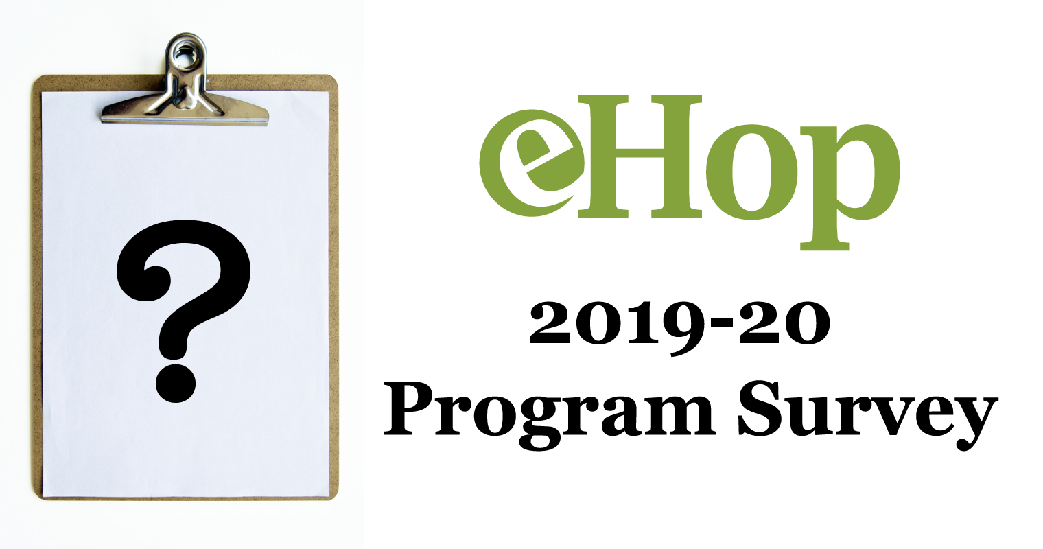eHop Brief Program Survey 2019-20