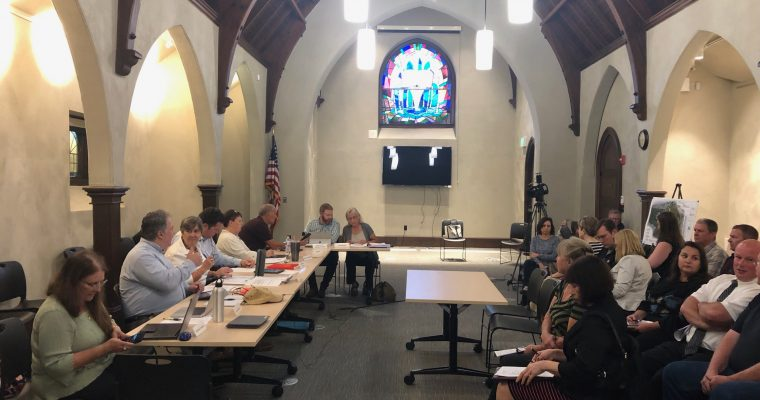 Planning Board Actions Taken 9/9/19