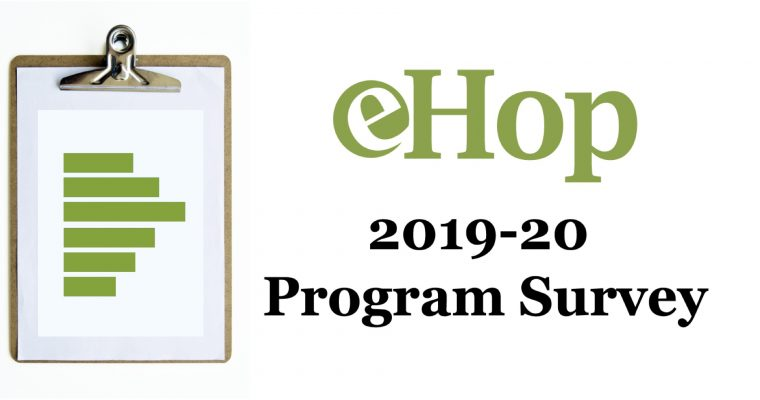 Survey Results – 2019-20 eHop Program