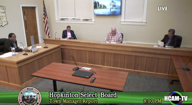 Select Board Actions Taken – 03/17/2020