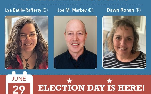 Learn more about the School Committee Candidates 2020