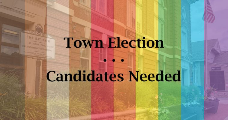 Town Election 2021 Candidate Update