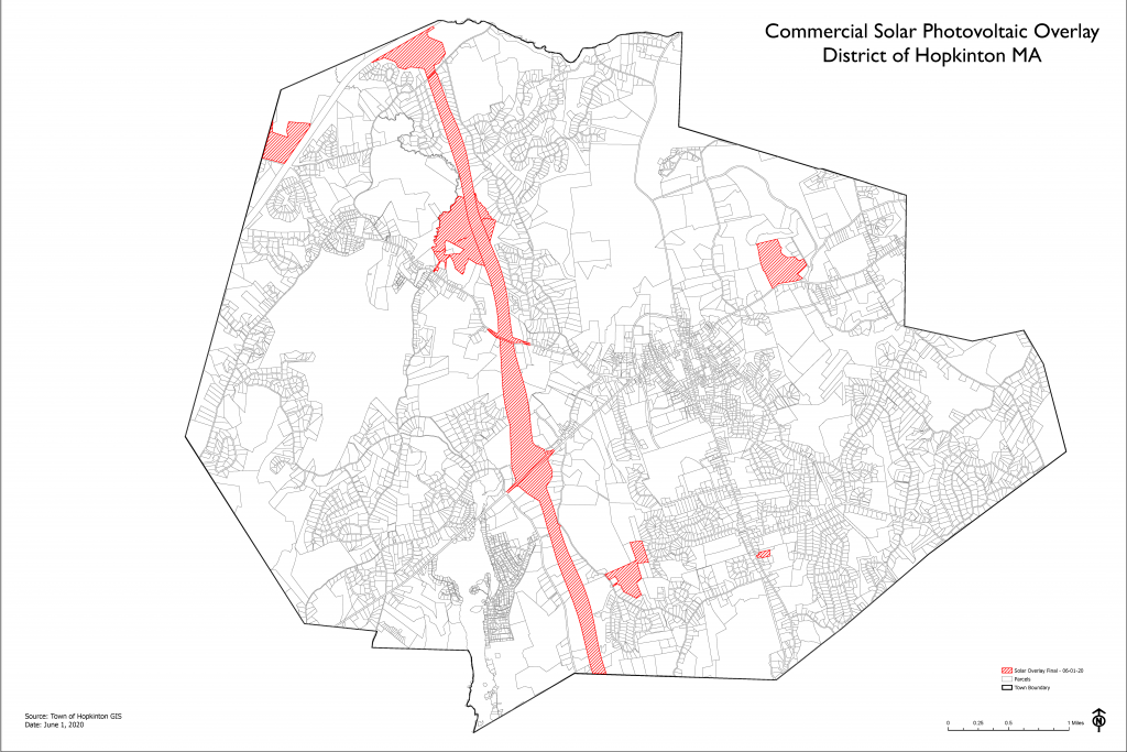 Solar Overlay District for Town Meeting 2021