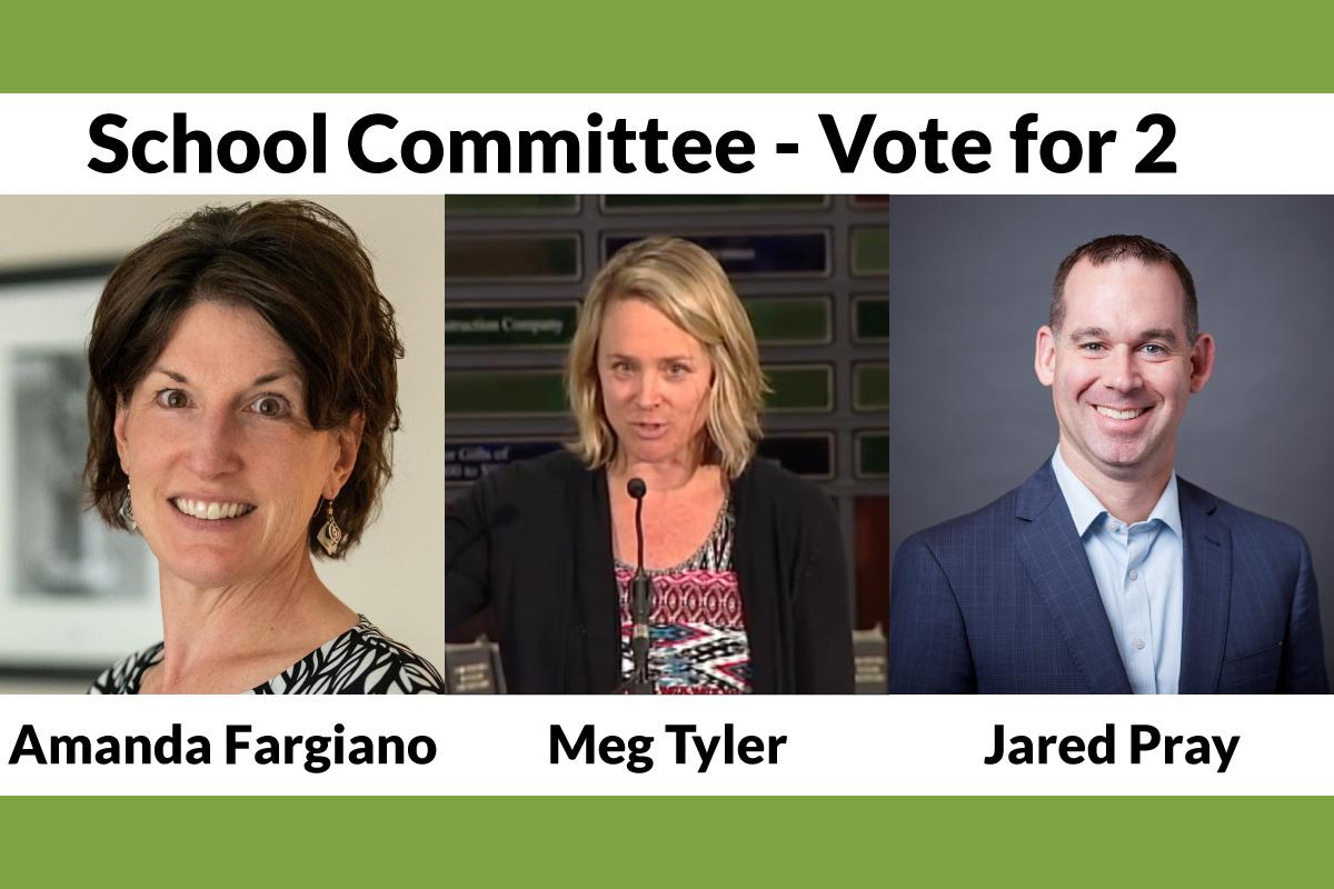 Meet the School Committee Candidates 2021