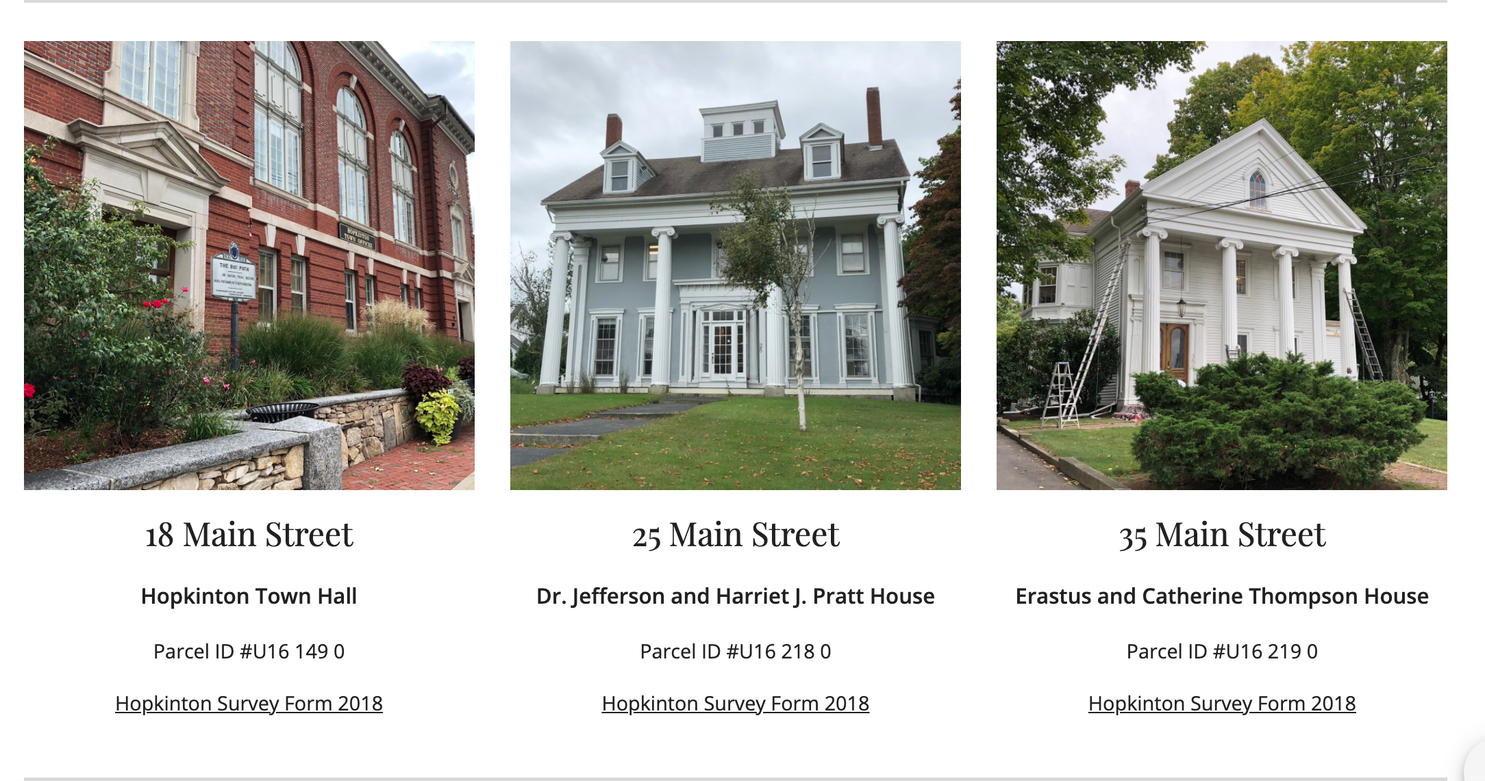 Hopkinton Historic District Commission – Did You Know?