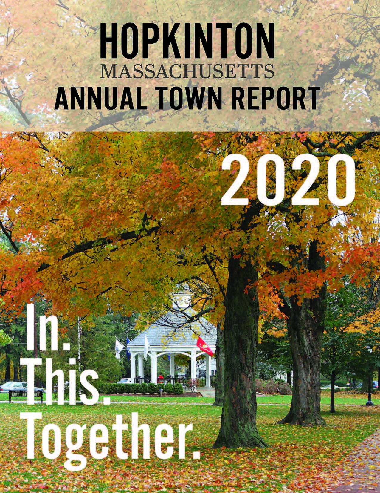 2020 Hopkinton Annual Town Report Cover